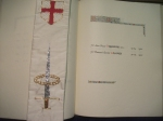 John Drummond in St Georges Chapel's Book ofRemembrance