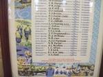 John Drummond in St Georges Chapel's Battle of Britain casualties list