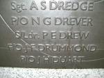 John Drummond on the Battle of Britain monument