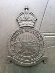 No 65 Squadron badge on Battle of Britain Monument