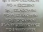P/O Wladysalw Szulkowski's name on Battle of BritainMonument