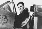 "F/O Brendan ""Paddy"" Finucane who flew with Szulkowski in No 65Squadron"