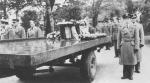 Wladyslaw Szulkowski's coffin