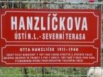 The memorial outside the home of OttoHanzlíček